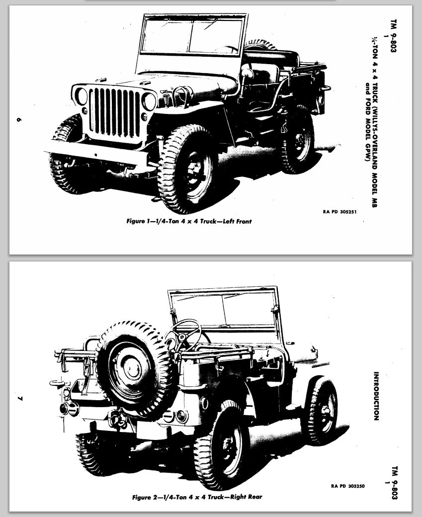 Just A Car Guy: TM9-803, the training manual for the 1/4