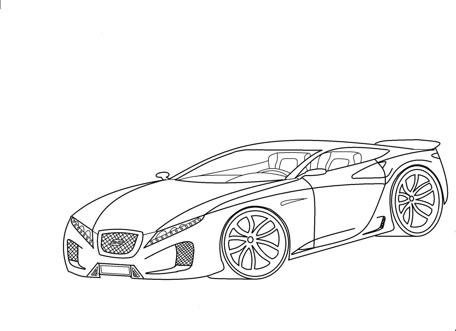 Carro Mustang Para Dibujar Imagui