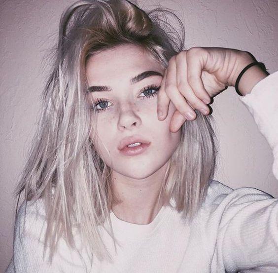 aesthetic cool girl grunge
