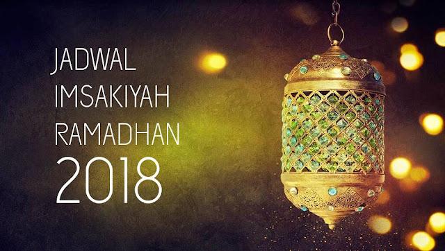 Jadwal Imsak, Sahur, dan Buka Puasa 2018 di Wilayah Bogor