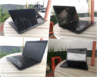 laptop bekas hp 1000-1b09au amd a4