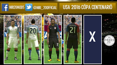 USA 2016 Copa Centenario Kit BETA Leaked