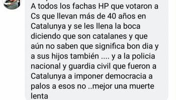 A todos los fachas HP que votaron a Ciudadanos