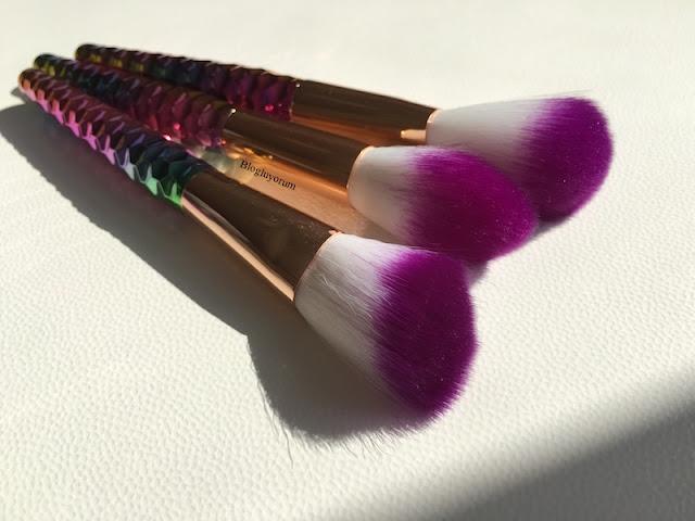 to save alışverişi unicorn makyaj fırça seti 7