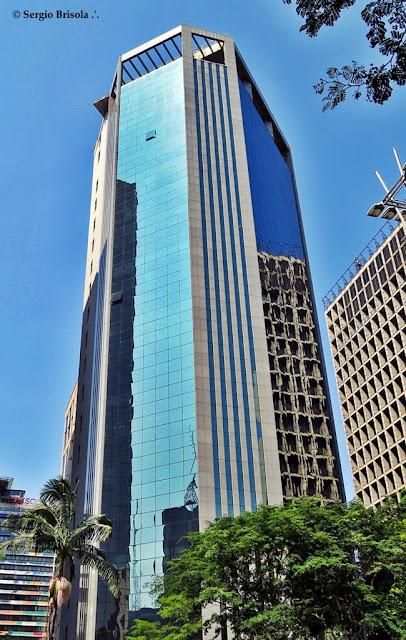Fachada do Edifício Comendador Alberto Bonfiglioli - Avenida Paulista São Paulo