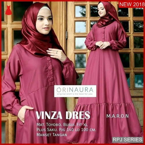 RPJ024D236 Model Dress Vinza Cantik Dress Wanita