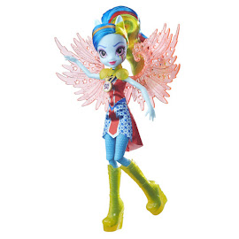 My Little Pony Equestria Girls Legend of Everfree Crystal Wings Rainbow Dash Doll