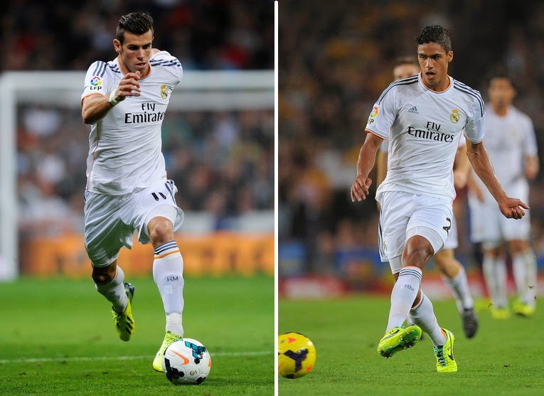 Chelsea's bid for Gareth Bale and Raphael Varane rejected