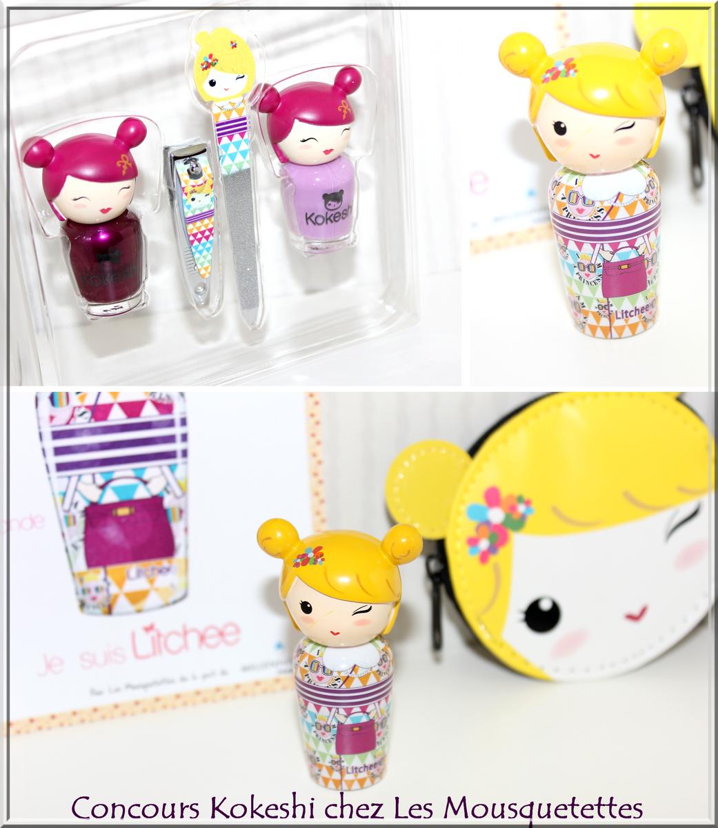 Concours Kokeshi Parfums chez Les Mousquetettes©