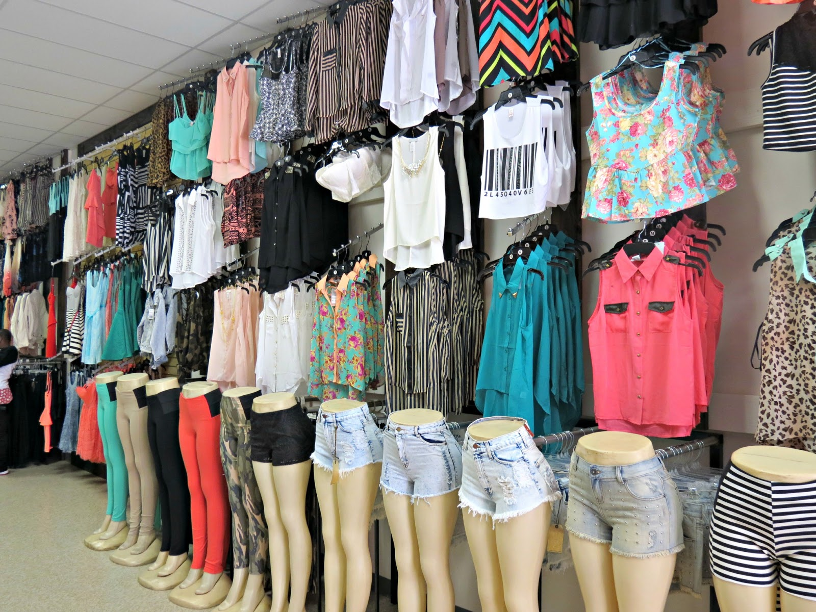 Rainbows clothes store