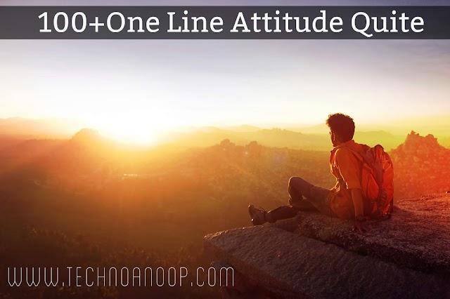 100+ ONE LINE BOYS & GIRLS ATTITUDE STATUS