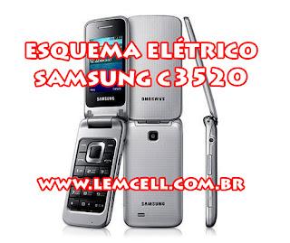 Esquema Elétrico Celular Smartphone Samsung C3520 Manual de Serviço  Service Manual schematic Diagram Cell Phone Smartphone  Samsung C352