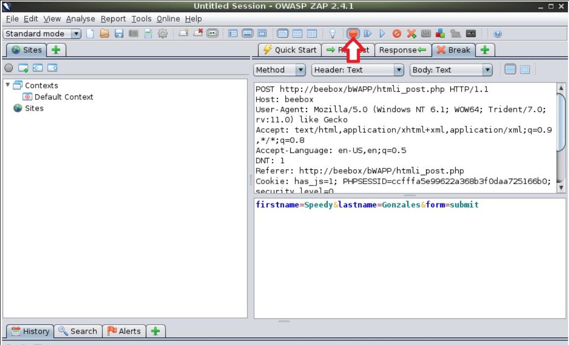 Diseccionando bee-box (OWASP bWAPP VM) v1.6 - Inyección HTML ...