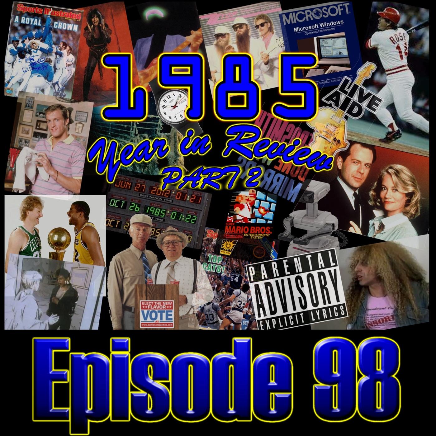Decibel Geek Podcast : Episode 98 - 1985 Year in Review Part 2
