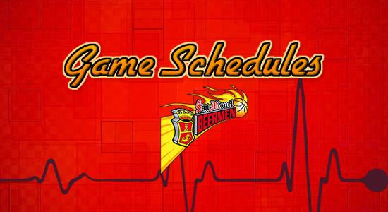 List: San Miguel Beermen Game Schedules 2017-2018 PBA Philippine Cup