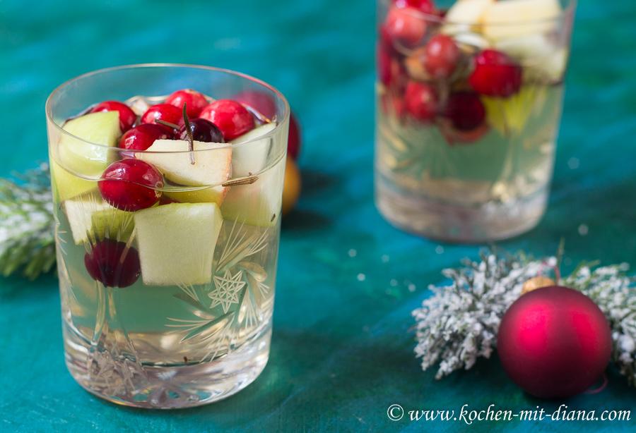 Weihnachtssangria | Kochen mit Diana