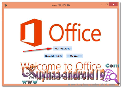 KMS NANO FOR ACTIVATED YOUR OFFICE 2013