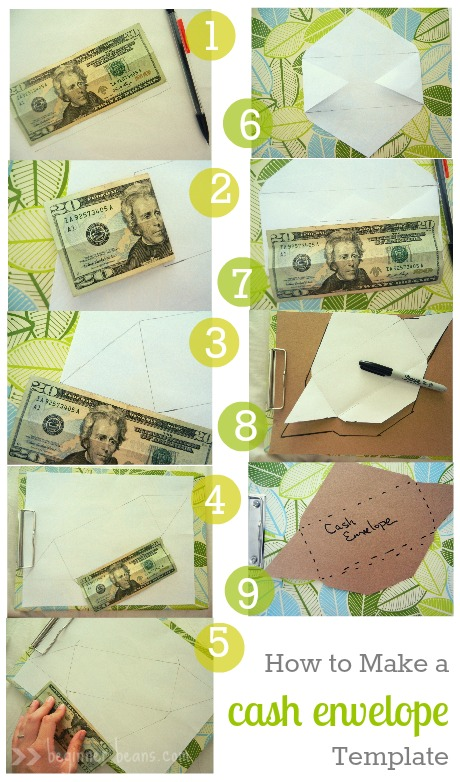 making a custom-cash envelope template