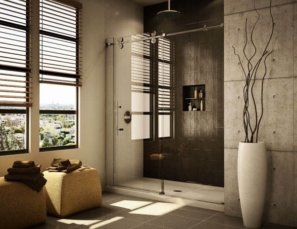 Modern Glass Shower Ideas Frameless Doors