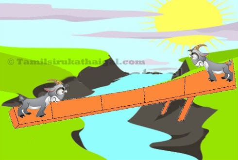 Two Silly Goats Moral Story - 1
