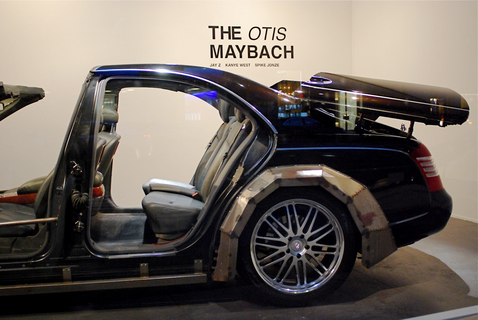 "nyc ♥ nyc: 2004 otis maybach 57 from jay z and kanye west ""otis"