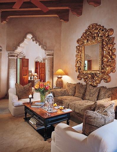 Boiserie c stile coloniale spagnolo in messico for Arredamento in stile coloniale