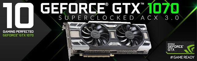 ECGVA Geforce GTX 1070
