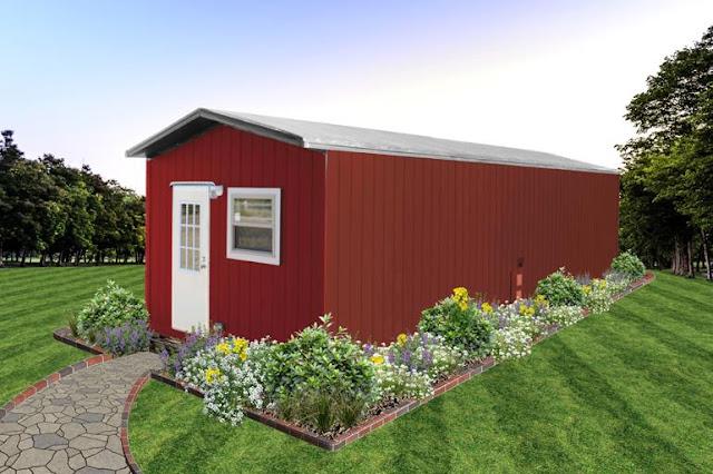 Tiny Hacienda house