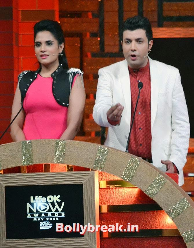 Richa Chaddha and Varun Sharma, Akshay, Jacqueline, Prabhu Dheva attend Life OK Awards