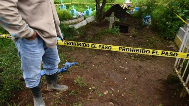 Localizan en México una fosa común con más de 192 cadáveres