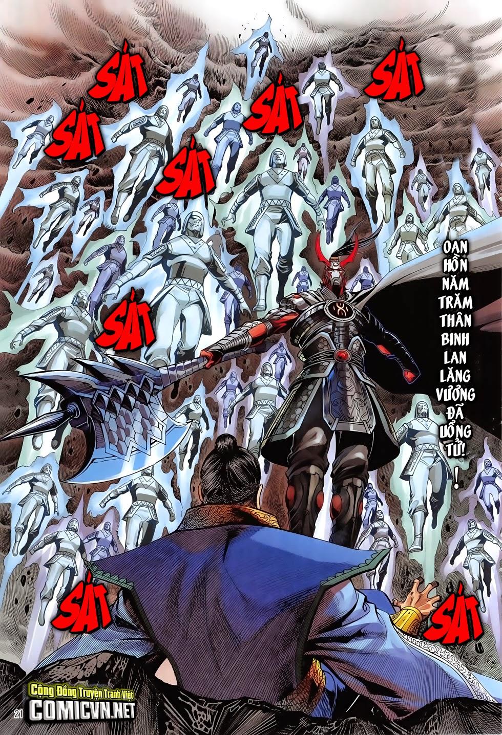 Chiến Phổ chapter 7: giết mi không chỉ mình ta trang 21