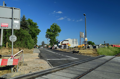 Baletowa reopens as rail works move slowly on