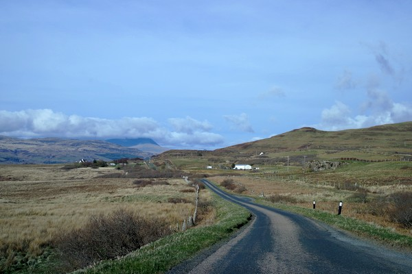 écosse highlands île mull route