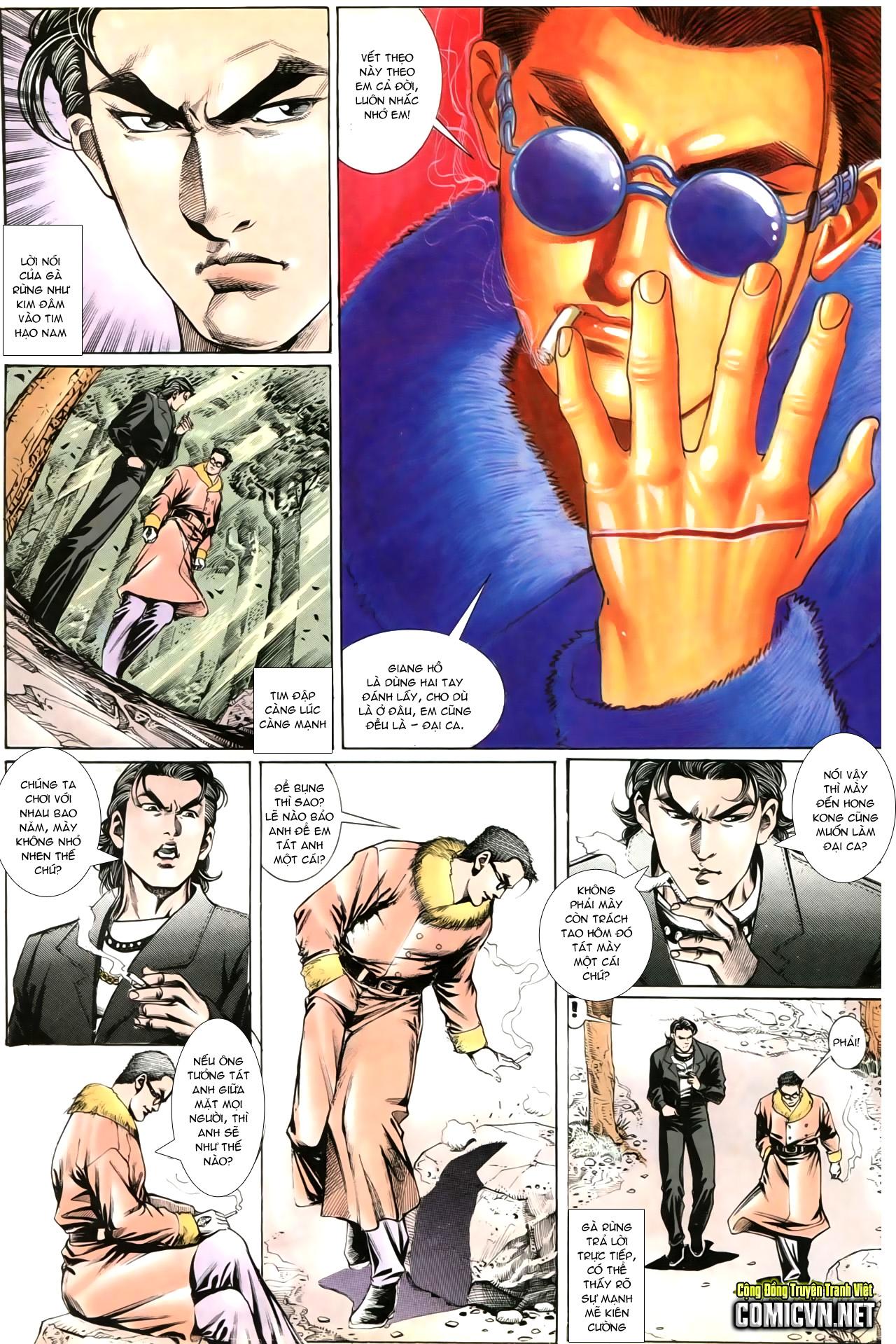 Người Trong Giang Hồ chapter 202: đối đầu trang 20
