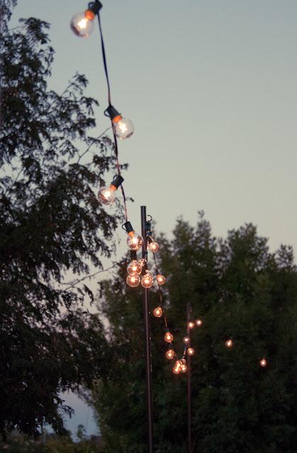Bright July: {DIY}: Outdoor String Lights on Backyard String Lights Diy id=74261