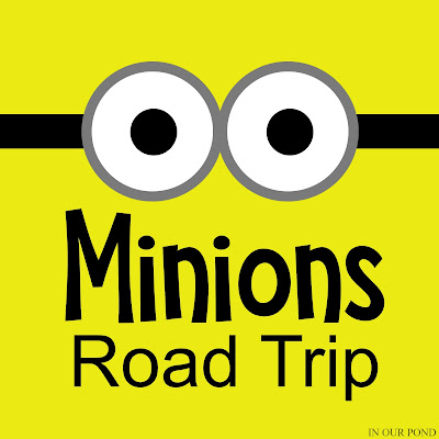 How to Plan a Minions Road Trip for Kids // In Our Pond // party // travel // road trip // travel with kids // party on wheels // despicable me // minions // banana // yellow // minion party