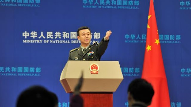 Chinese Defense Ministry spokesman Wu Qian demands halt of US arms sales to Taiwan