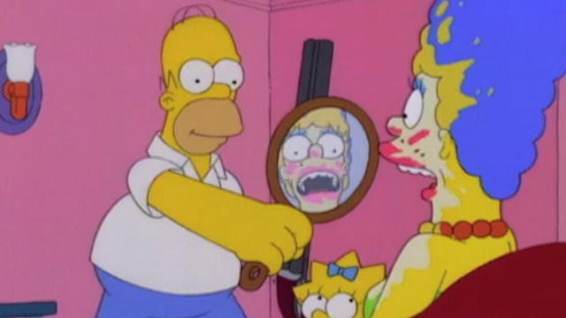 maquillaje escopeta homer