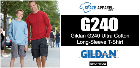 Gildan G240 Ultra Cotton6 Oz. Long-Sleeve T-Shirt