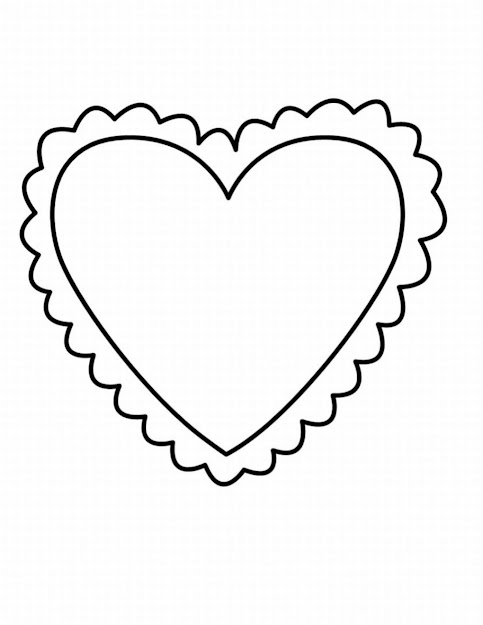 Valentines Day Coloring Pages Printable Heart Coloring Pages