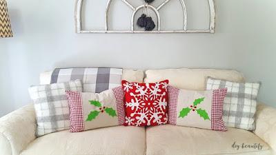 Easy DIY pillow wraps