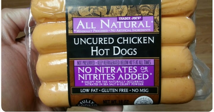 Healthy eating or not? | Nancy Loderick's Blog |Trader Joes Hot Dogs