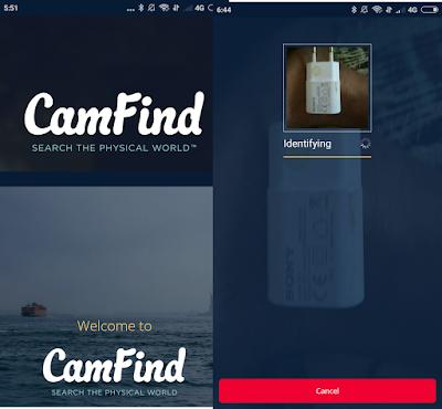 Cara Mencari Iinformarsi Barang atau benda Hanya Lewat Foto Di Android Dan IOS