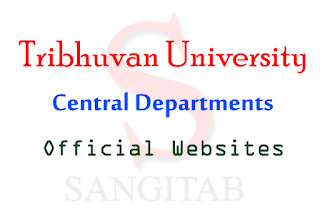 Central Departments Official Websites List Tribhuvan University