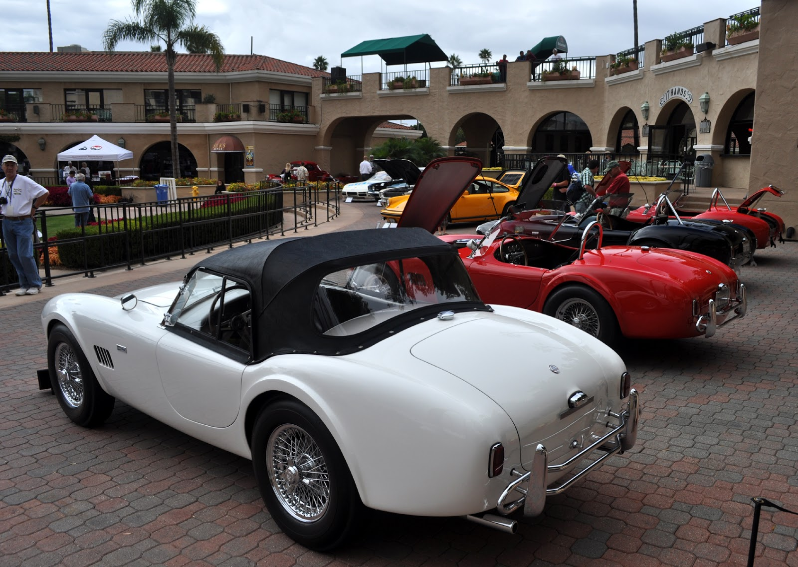 just a car guy cobras at the del mar concours 2012. Black Bedroom Furniture Sets. Home Design Ideas