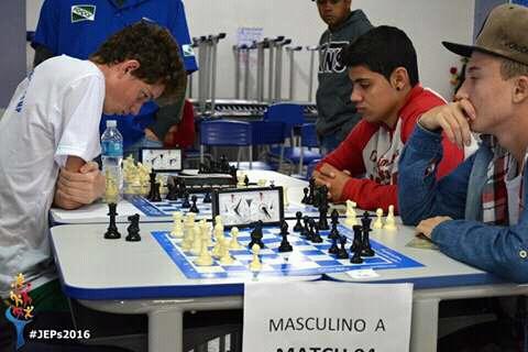 Especial 63º JEP's: Prefeita participa do encerramento das disputas de xadrez