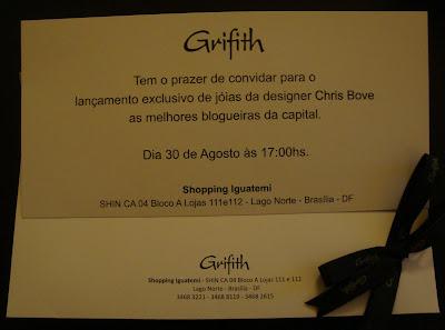2 Encontro de Blogueiros: GRIFITH + Chris Bove