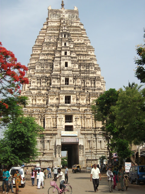 Virupaksha temple tower - Hampi Pick, Pack, Go