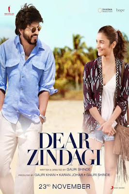 Dear Zindagi 2016 Custom HD Sub