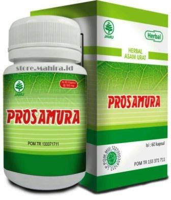 Prosamura Obat Herbal Asam Urat dan Rematik